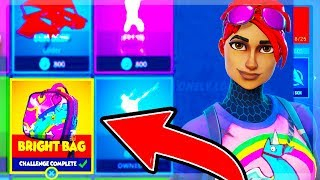 BRIGHT BAG FORTNITE: *SECRET* ITEAM - TRYING TO UNLOCK THE NEW BRIGHT BAG (FORTNITE BATTLE ROYAL)