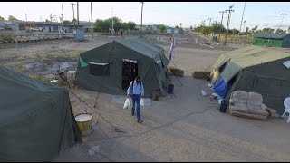 Homeless veterans take refuge at Arizona encampment