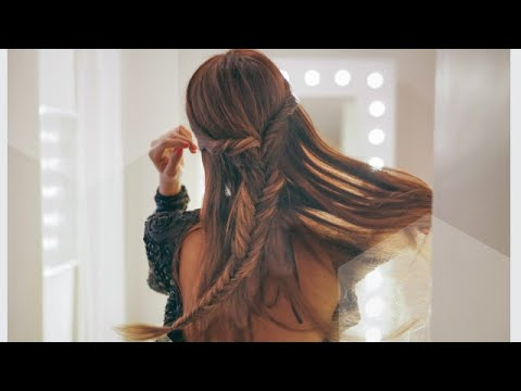 Tutorial 2 peinados faciles para vestidos elegantes - Peinados fiesta faciles ...