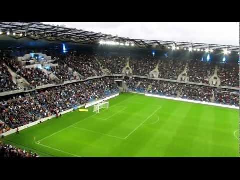 Inauguration du stade Océane, au Havre : l'entrée des joueurs
