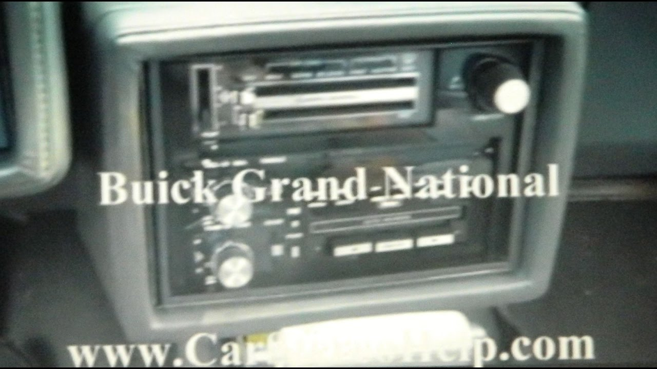 Buick Grand National Car Stereo Removal Youtube. Buick Grand National Car Stereo Removal. Buick. 1987 Buick Grand National Head Diagram At Scoala.co