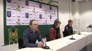 Presskonferens efter GAIS-Östersunds FK