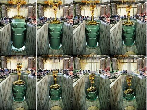 Атомный Реактор ВВЭР 1200 самый-самый (Нововоронежсая АЭС)