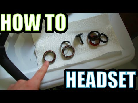 HOW TO Put Together Your BMX HEADSET! (IN DEPTH)
