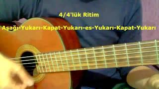 Gitar Dersi - Ritim Atma (4/4'lük Ritim - 3)