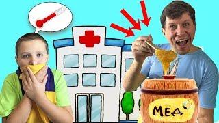 Притворяшка Как притвориться заболевшим? Что делать если ребенок притворяется больным?