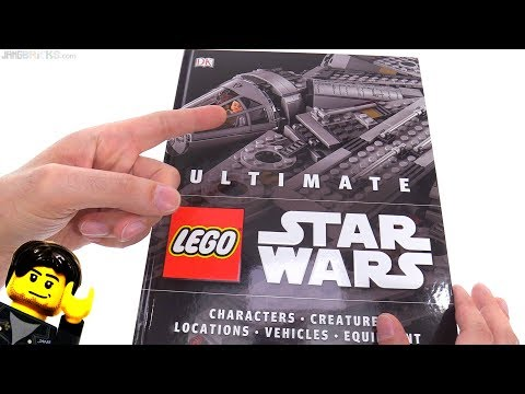 Ultimate LEGO Star Wars book by DK! thumbnail