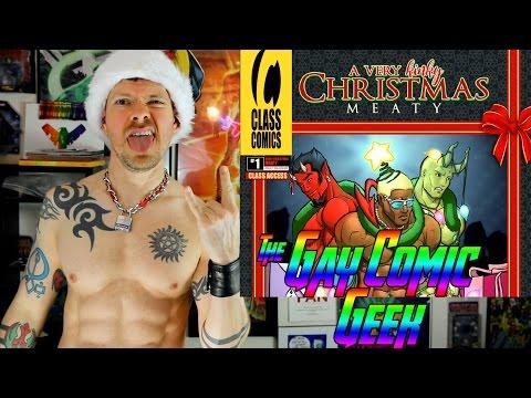 A Very Kinky Christmas: Meaty #1 And #2 - Class Comics Gay Comic Books Reviews