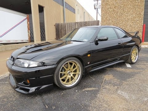 1997 Nissan Skyline GT-R V-Spec (R33) Start Up, Exhaust, and In Depth Review