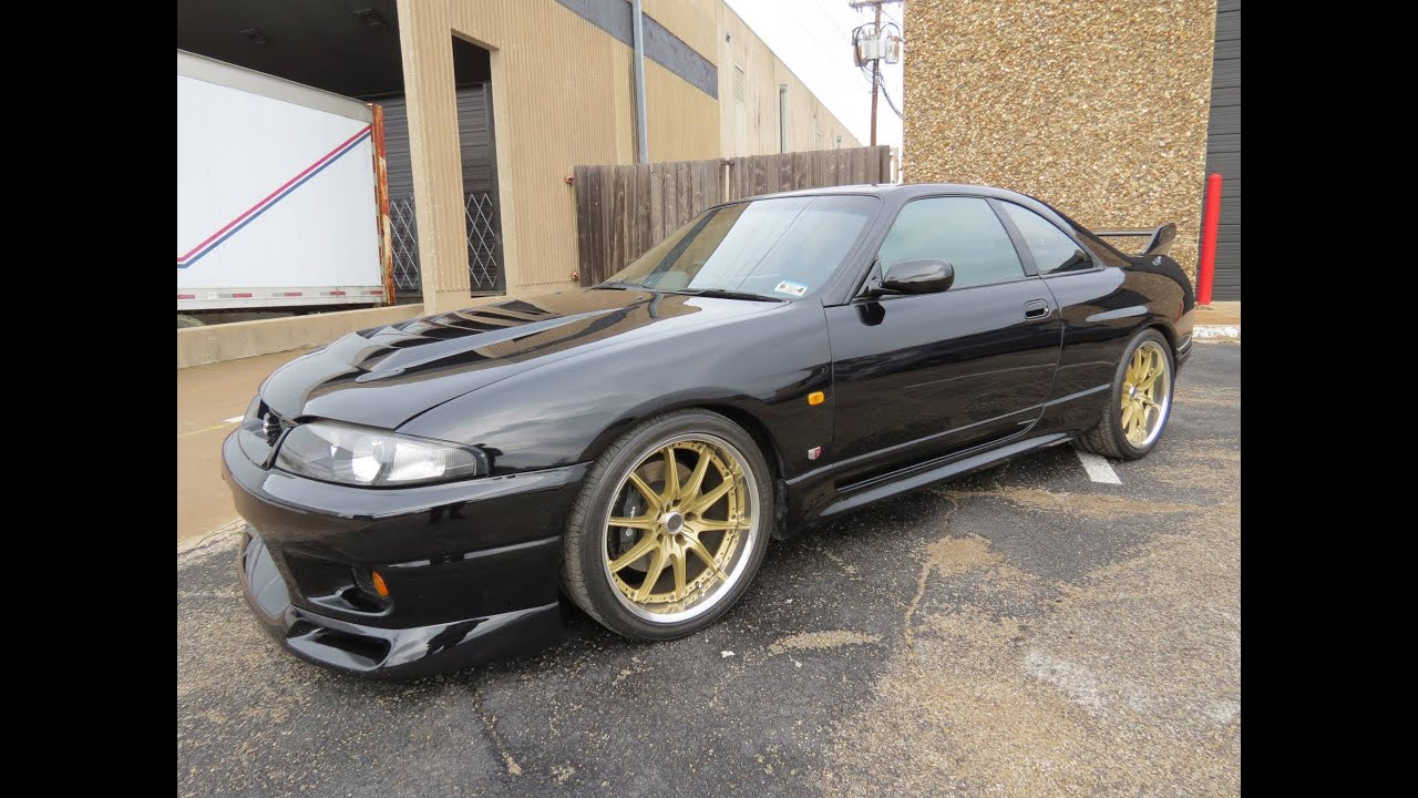 1997 Nissan Skyline Gt R V Spec R33 Start Up Exhaust