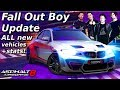 STORY MODE?!? Asphalt 8: Fall Out Boy Update - vehicle stats & other info