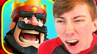 CLASH ROYALE - New CLASH OF CLANS Game! (iPhone Gameplay Video)