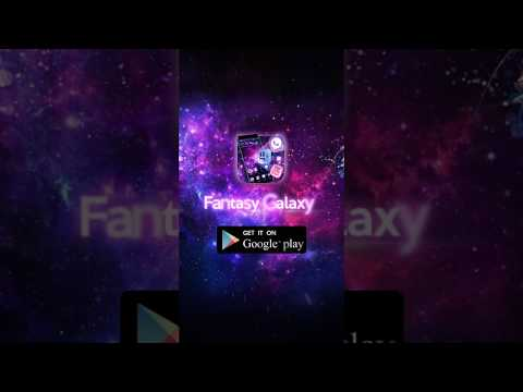 3d fantasy galaxy theme apps on google play