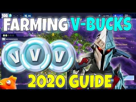 BEST Ways To Farm V-Bucks In 2020   Farming Guide   Fortnite Save The World