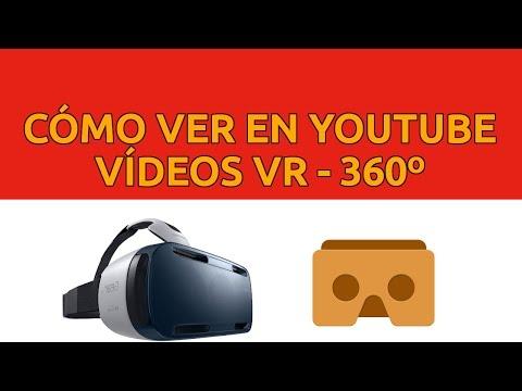 Cómo ver 😎 vídeos 360 o VR con Gafas VR de Realidad Virtual en Youtube vídeos VR apps juegos android