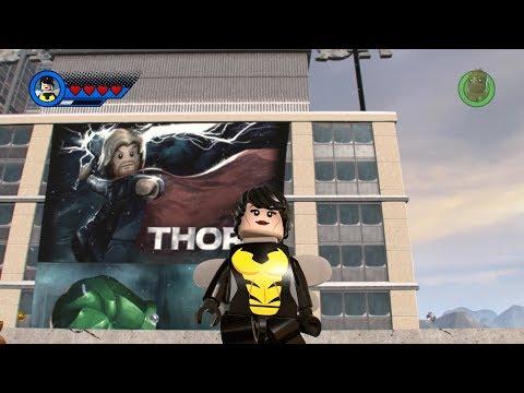 Wasp - LEGO MARVEL Super Heroes 2 (Open World Free Roam)