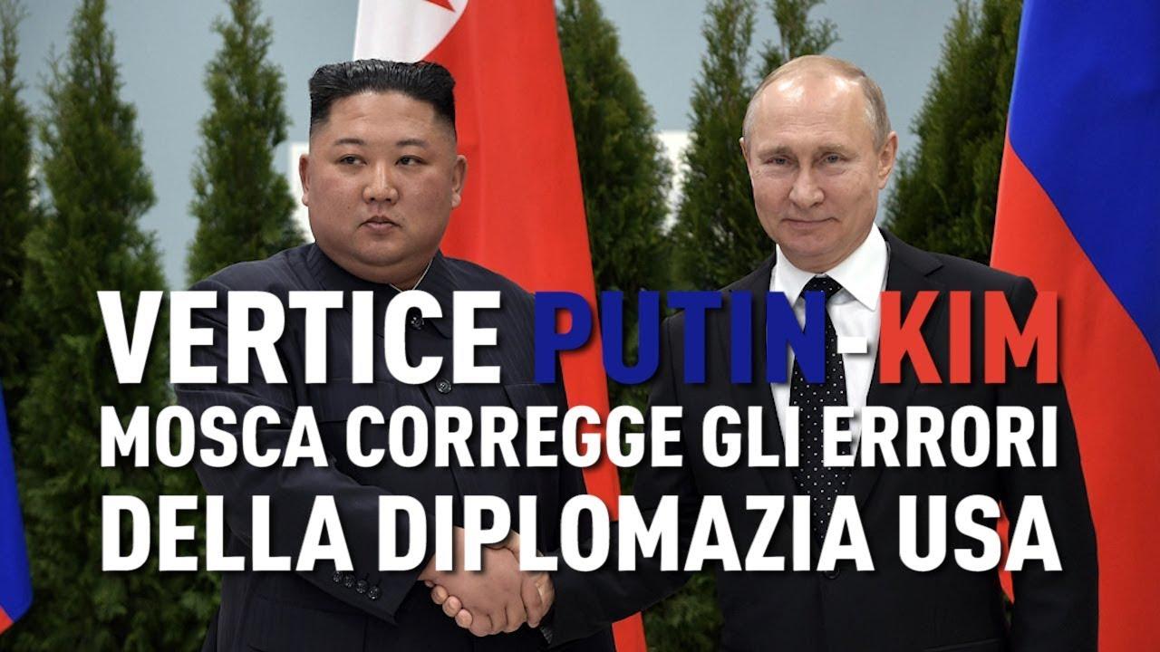 PTV News - 26.04.19 - Vertice Putin-Kim. Mosca corregge gli errori della diplomazia Usa