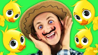 Finger Family Farm Animals Song for Kids | Super Simple Nursery Rhymes. Sing Along With Tiki.
