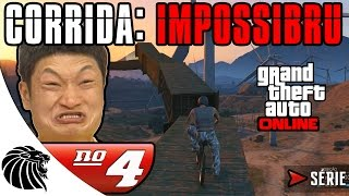 GTA 5 Online - BIKE TRIAL WHACKED OFF - CORRIDAS: IMPOSSIBRU Série #4 [PT-BR]