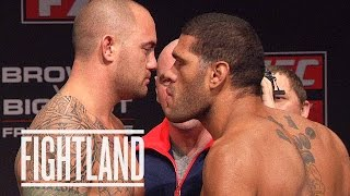 Before and After the Fight with Travis Browne: Fightland.com