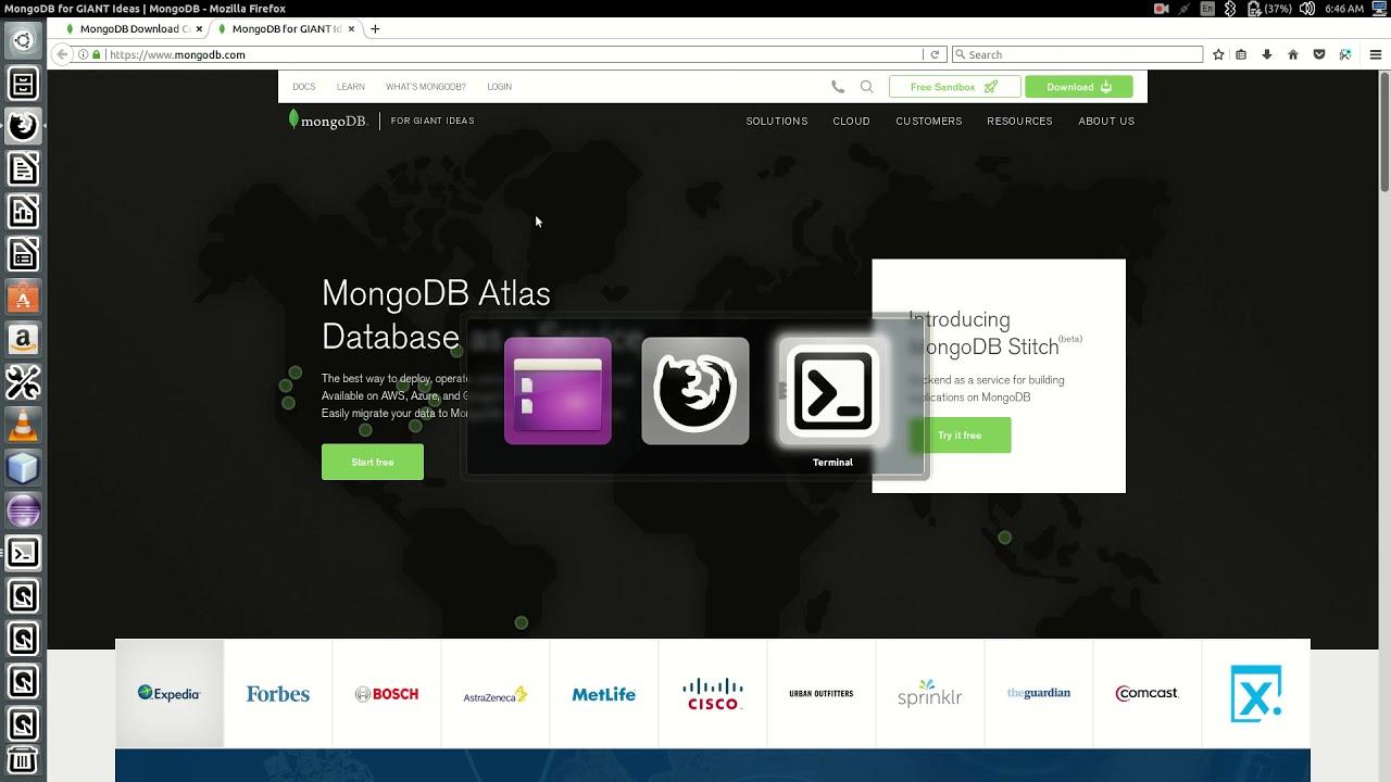 install mongodb ubuntu 14 04