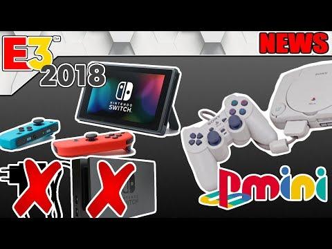 Switch ohne Netzteil und Dock kommt! / Playstation Classic Mini im Anflug? - #NerdNews 276