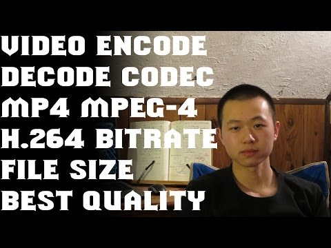 Encode, decode&codec - Everything youtuber should know about video part#1