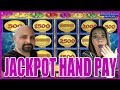 UNBELIEVABLE ★ JACKPOT HAND PAY ON THE WAGER SAVER 😵 WHO ...