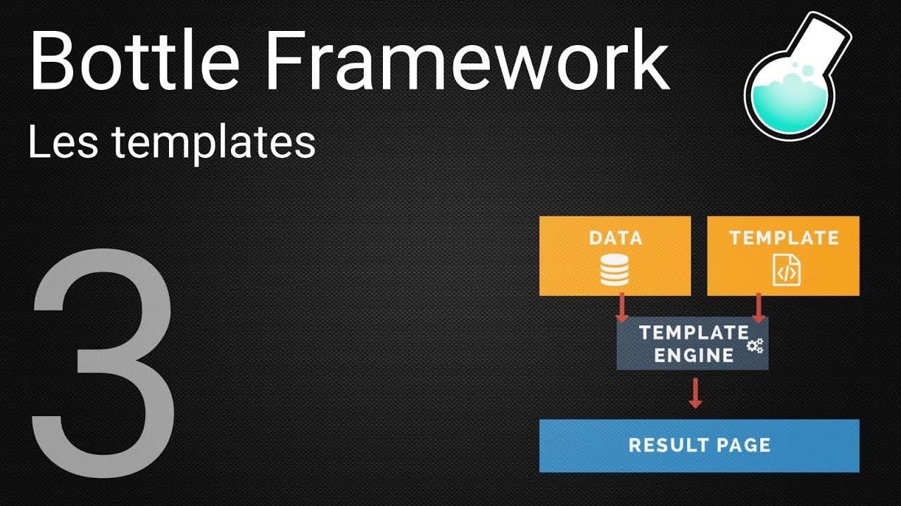 Tutoriel Bottle Framework : 3 - Les templates - YouTube