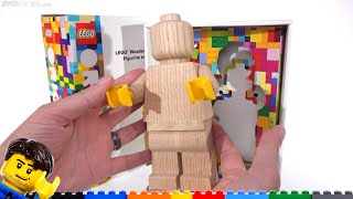 """LEGO Originals Wooden """"Minifigure"""" cost too much, so I paid MORE!"""