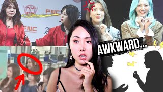 Reasons Why Girl Groups Dislike With Each other (Unfair Lines, Fights, Mina Jimin AOA)