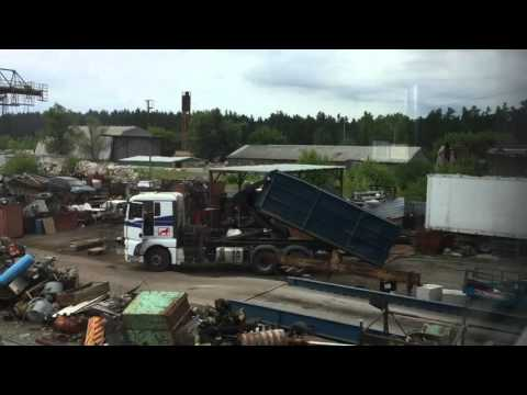 Автомобиль для перевезки металлолома