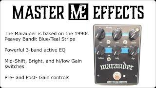 Master Effects - The #Marauder preamp #Peavey #Supreme/#Bandit Bluestripe preamp!