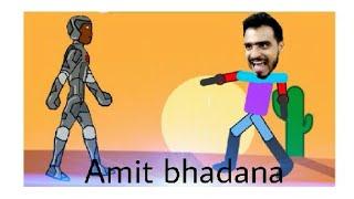 Amit bhadana cartoon video ..