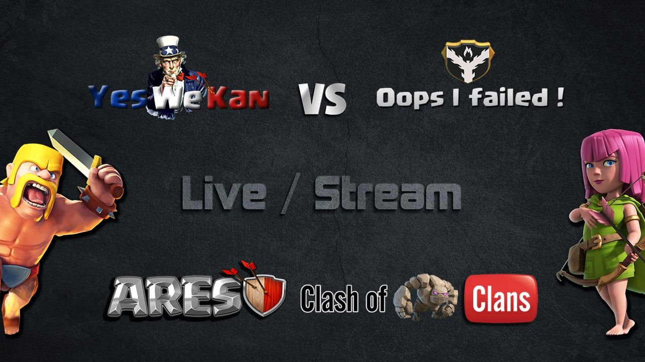 Yes Live Stream : live 3 stream yes we kan vs oops i failed youtube ~ Vivirlamusica.com Haus und Dekorationen