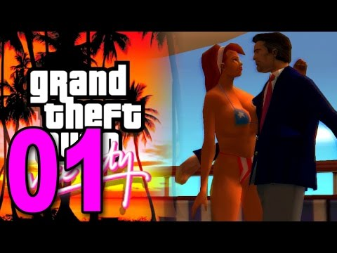 Grand Theft Auto: Vice City - Part 1 - The Beginning (GTA Walkthrough / Gameplay)
