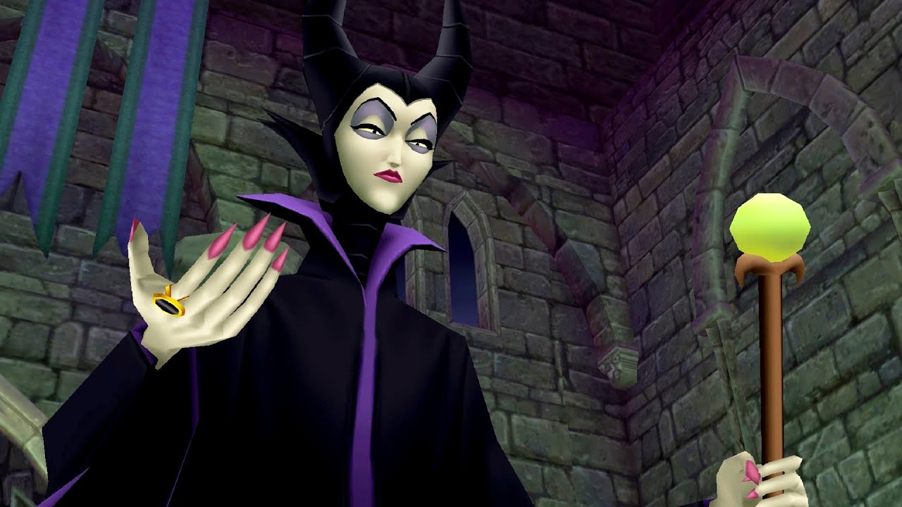 Kingdom Hearts: Re:Chain of Memories - Maleficent Boss