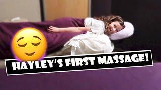 Hayley s First Massage  WK 378.7 Bratayley