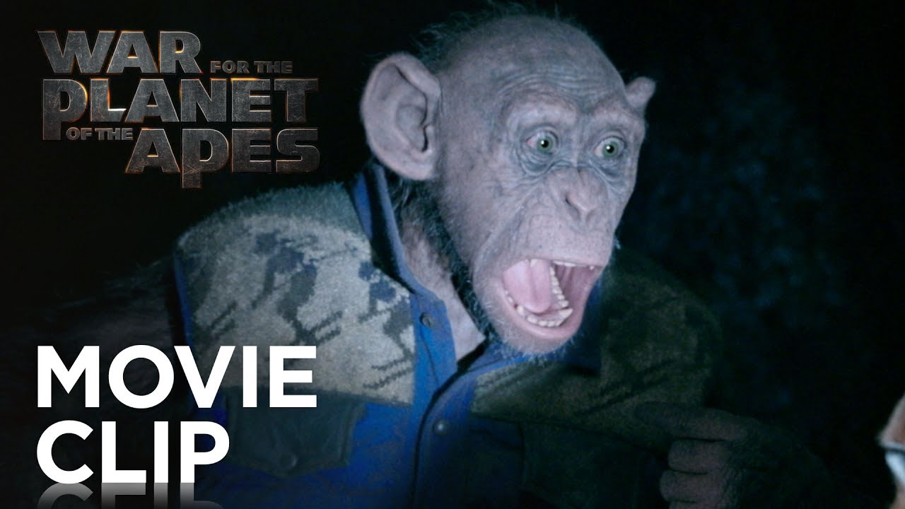 War For The Planet Of The Apes Bad Ape And Maurice Clip 20th