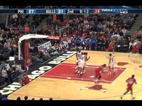 Thaddeus Young 2009-10 Highlights
