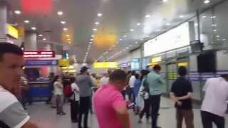 In the Airport  in Almaty (Kazakhstan)/I speak in English /Английский язык(, 2015-08-10T05:23:58.000Z)