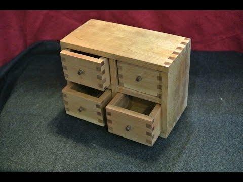 Holzverbindungen: 3. Fingerzinken für Anfäger - Tutorial Werken