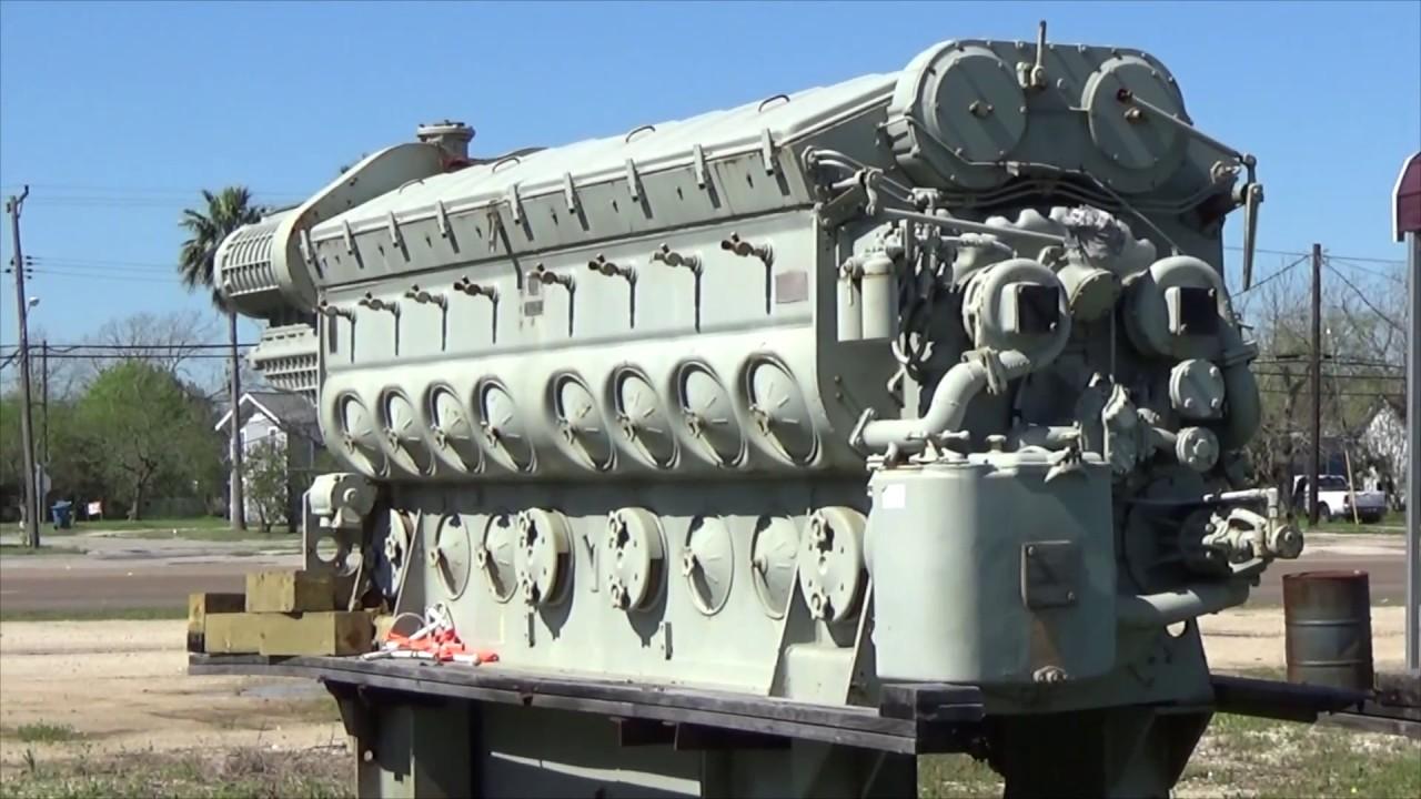 emd 16 645 e6 diesel engine in port lavaca texas youtube rh youtube com EMD 645 Engine Manual EMD 645 Engine Generator