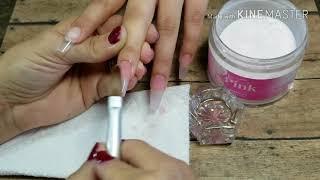 Tips para tardar menos aplicando uñas Acrilicas