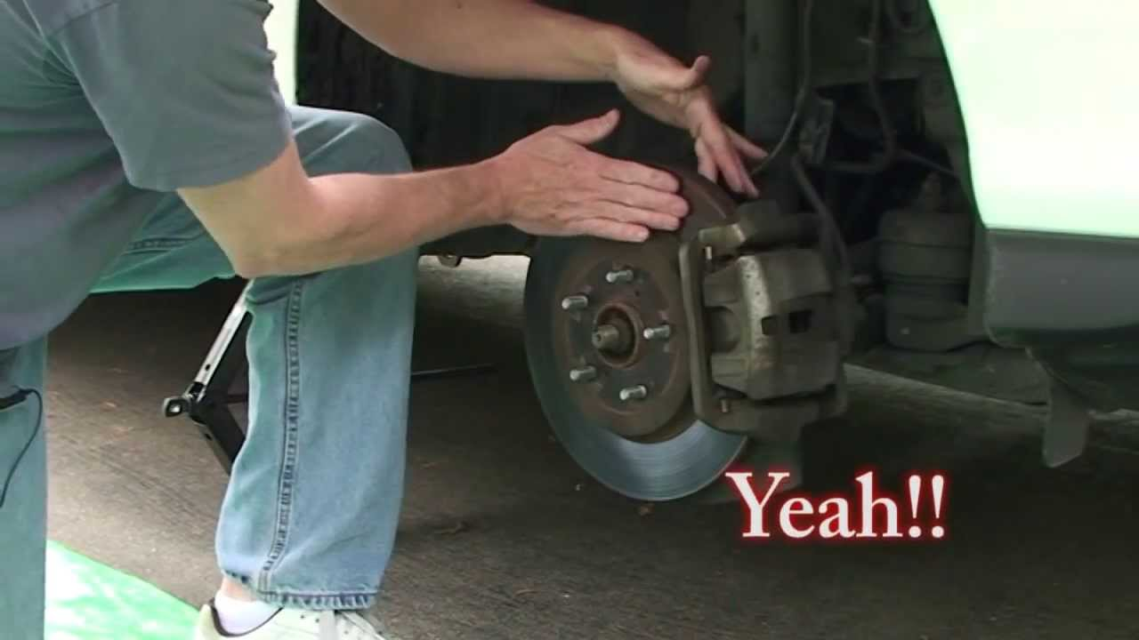 Brake Pads And Rotor Change On Lexus Rx330 Youtube