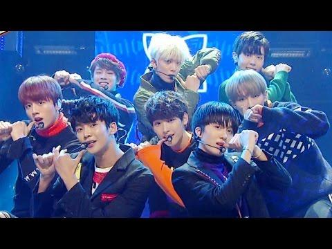 《POWERFUL》 SF9 - Fanfare (팡파레) @인기가요 Inkigayo 20161023