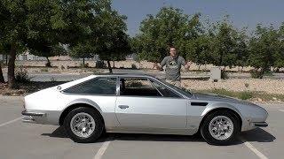 Lamborghini Jarama - уродливая, редкая, и совершенно неизвестная