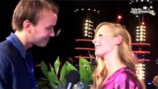Tele2s Idolreportrar: Erika efter att ha blivit utslagen i Idol
