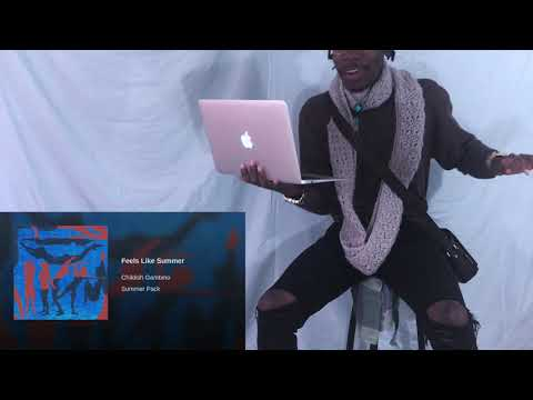 Childish Gambino - Feels Like Summer REACTION VIDEO