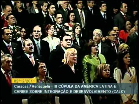 CARACAS - Cerimônia de abertura da 3ª Cúpula da América Latina e do Caribe